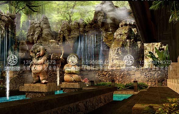 创新世纪温泉案例